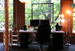 The new office digs