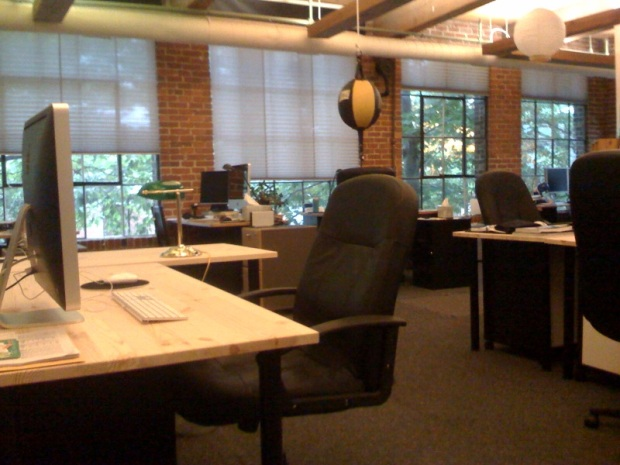 New desks a the nest