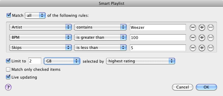 Do you use Smart Playlists? | Music Machinery