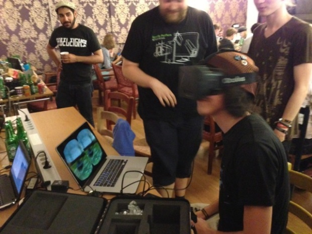 The Oculus Rift in action