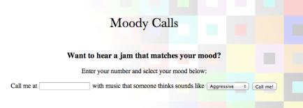 MoodyCalls