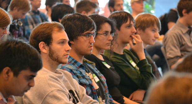 Hackers riveted by Paul Lamere's opening remarks
