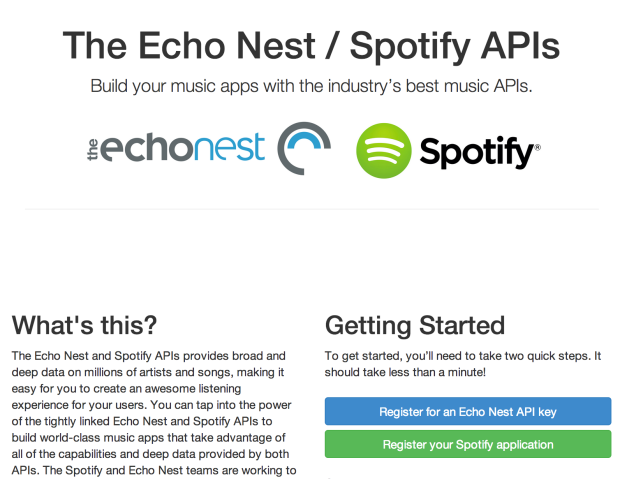 The_Echo_Nest___Spotify_Developer