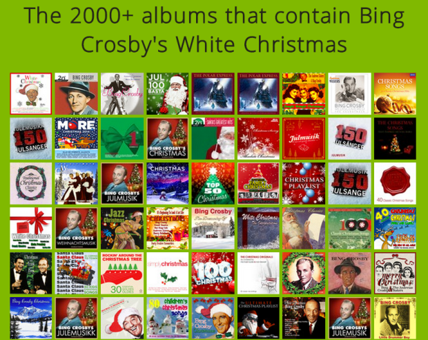 The Million Songs of Christmas | Music Machinery