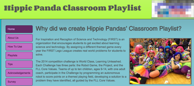 Hippie_Pandas_Classroom_Playlist